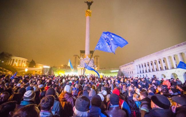 Фото: активисты Евромайдана