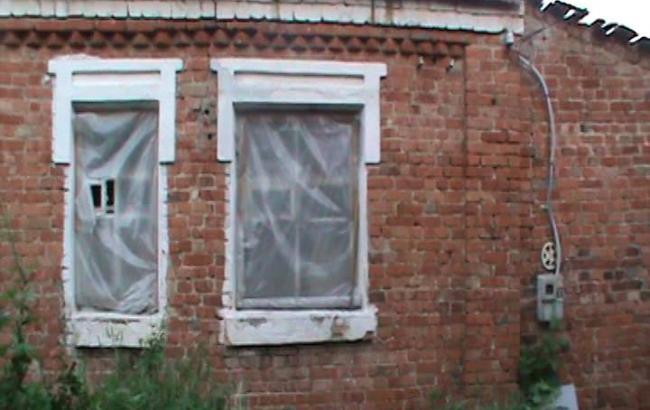 Фото: обвал дома в Харьковской области
