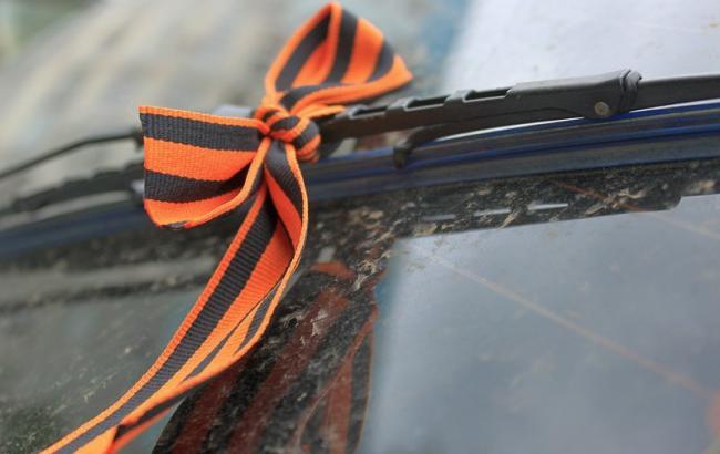 Фото: Теперь георгиевские ленточки в транспорте - табу (ZN.ua)