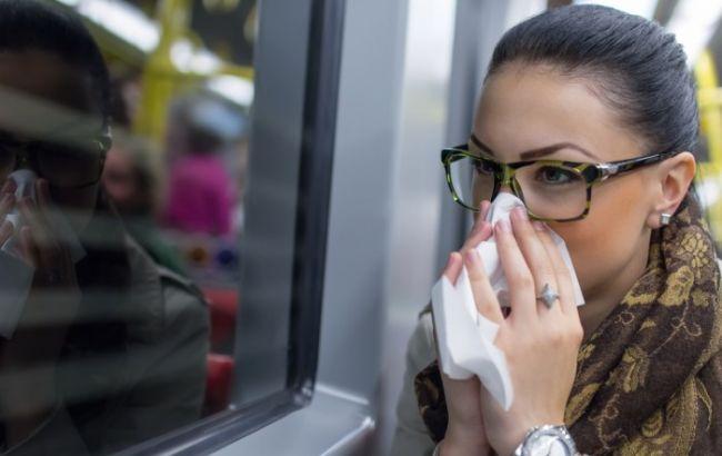 Фото: украинцы начинают болеть гриппом