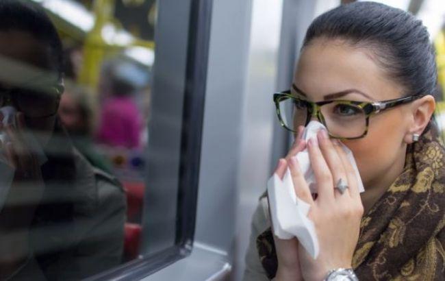 В Україні за тиждень на грип та ГРВІ захворіли понад 156 тис. осіб