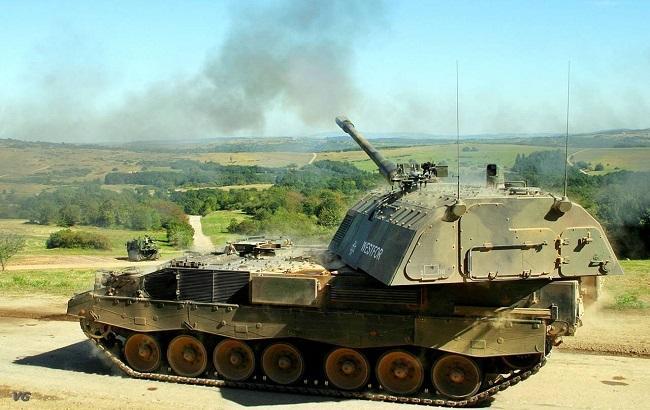 Фото: самохідні артилерійські системи