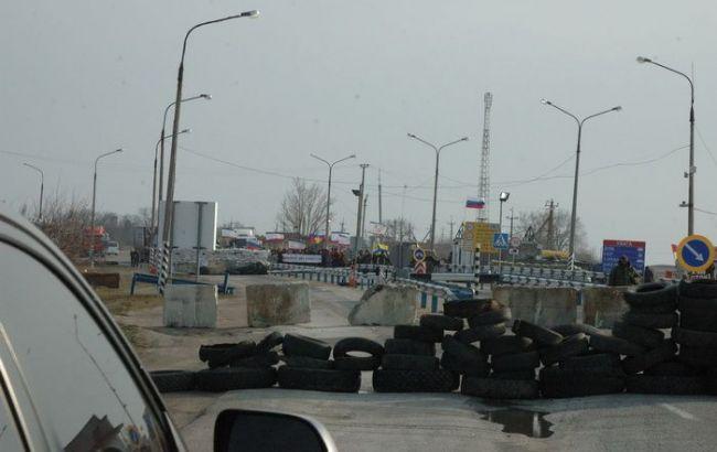 Стрельба наКПВВ «Чонгар»: шофёр, прорываясь наавтомобиле, едва несбил пограничника