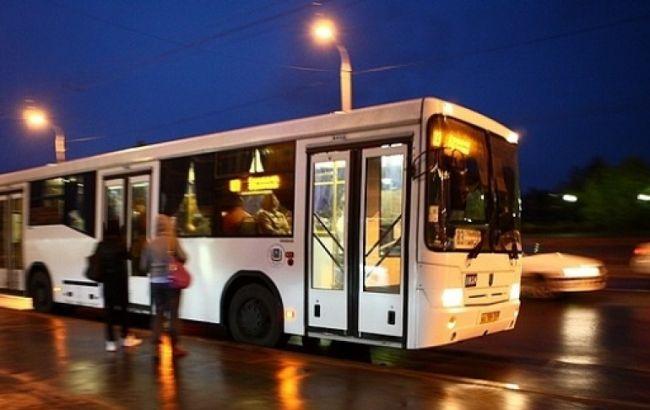 30декабря вКиеве запустят 4 ночных маршрута