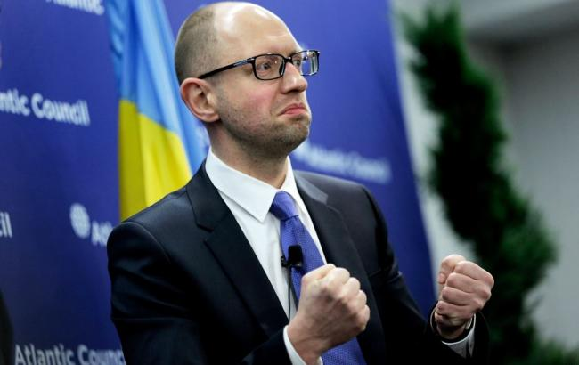 Фото: прем'єр-міністр Арсеній Яценюк