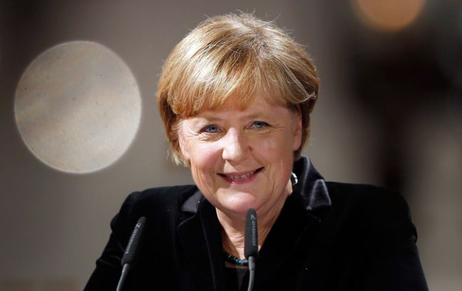 Фото: канцлера Германии Ангелу Меркель поддерживают две трети немцев