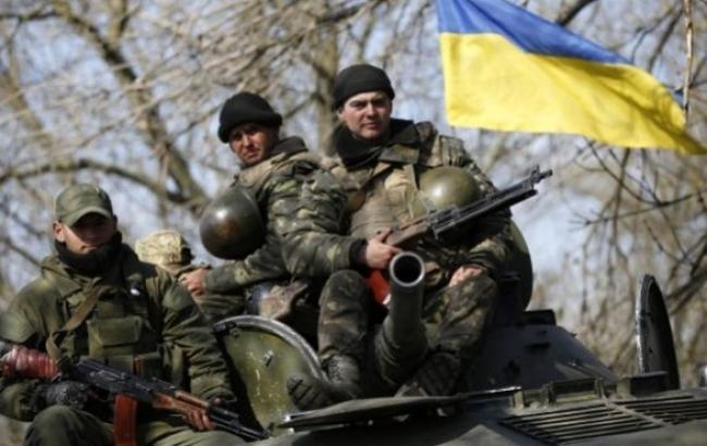 В зоні АТО за добу загинув один український військовий, поранених немає, - штаб