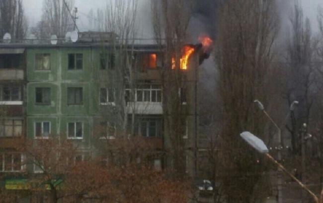 Фото: взрыв дома в Кривом Роге