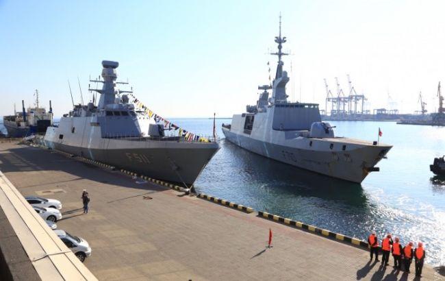 Фото: турецкие корабли в Одессе