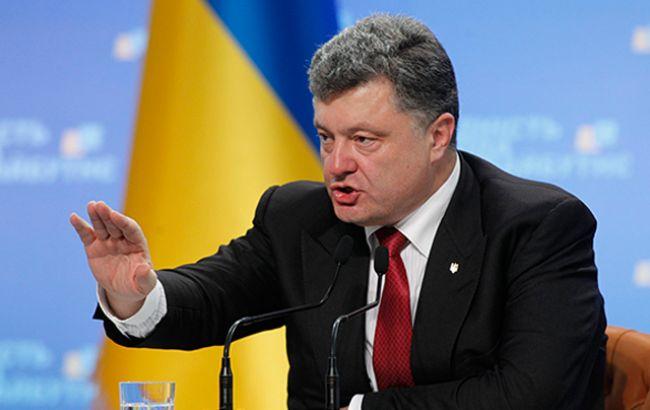 Порошенко: ми готові постачати електроенергію тільки в український Крим