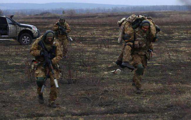 Бойовики поранили бійця АТО під Маріуполем, - штаб оборони