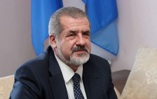 Фото: президент Всемирного конгресса крымских татар Рефат Чубаров