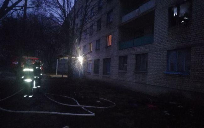 В Харьковской области горела многоэтажка, эвакуировали 22 человека