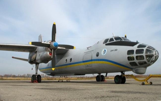 Фото: наблюдательный полет будет выполняться на украинском самолете Ан-30Б