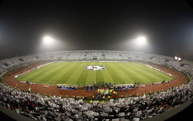 УЕФА снял с«Партизана» запрет научастие веврокубках