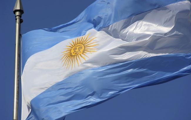 Фото: флаг Аргентины