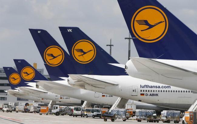 Фото: самолеты Lufthansa