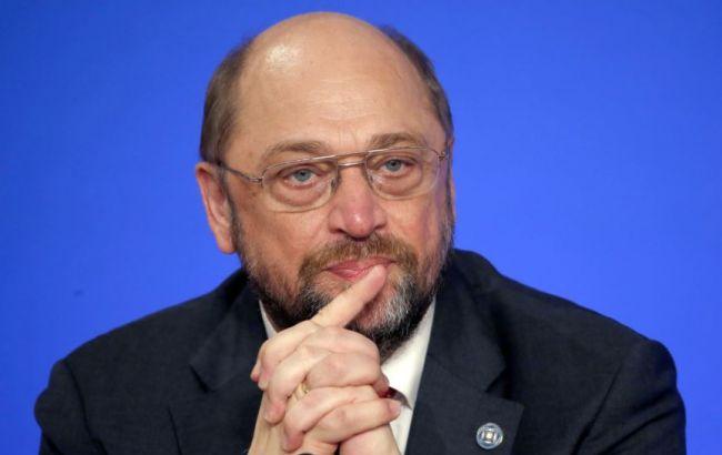 Фото: президент Европарламента Мартин Шульц