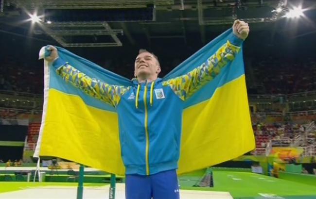 Фото: Олег Верняев получил золотую медаль на Олимпиаде-2016