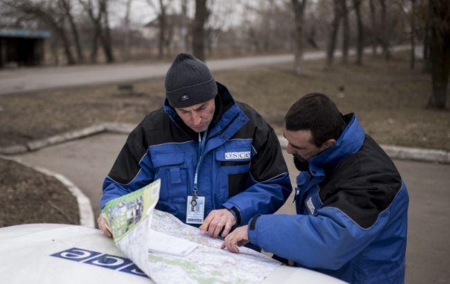 Миссия ОБСЕ открыла новую патрульную базу в Счастье