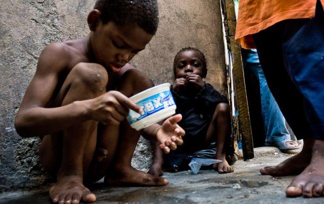 Фото: дети на Гаити