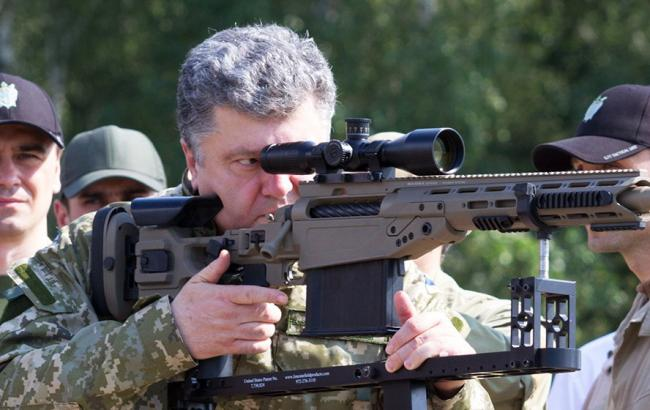 Порошенко затвердив план міжнародних військових навчань в 2015 р