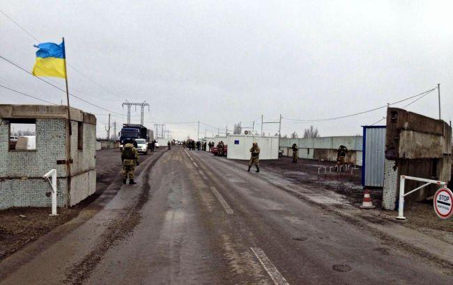 Боевики обстреляли КПВВ Майорск изкрупнокалиберных пулеметов