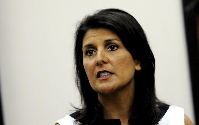 Фото: постпред США в ООН Никки Хейли