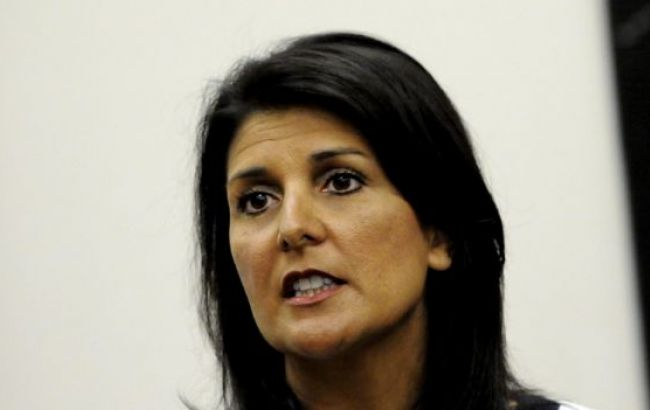 Фото: постпред США при ООН Никки Хейли
