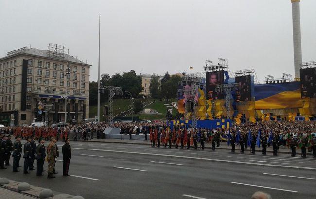 Фото: парад до Дня незалежності в Києві