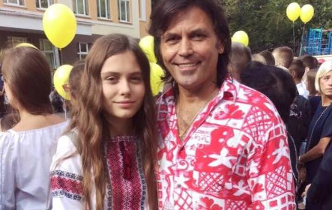Другий чоловік і молодша дочка актриси