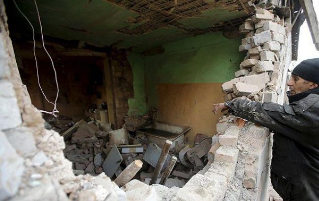 На восстановление разрушенных объектов в Донецкой области потрачено 624,3 млн гривен
