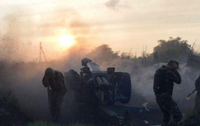 В результаті боїв в районі Світлодарської дуги загинули 25 бойовиків, 30 поранені