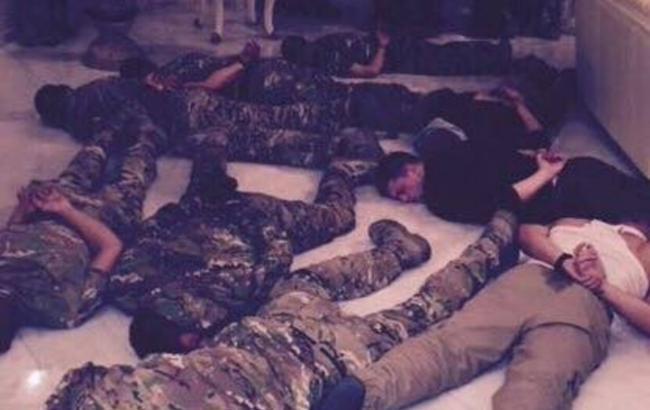 Фото: захоплення заручників в Одесі