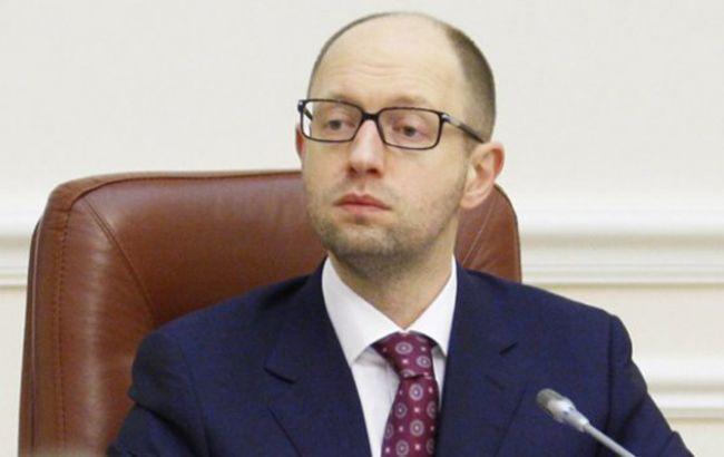 Яценюк отозвал Демчишина из командировки в США для решения проблем шахтеров