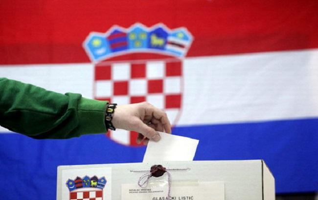 Фото: голосование в Хорватии