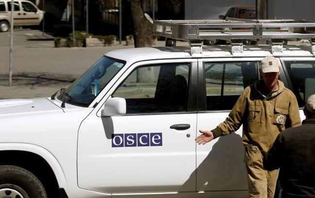Фото: автомобіль ОБСЄ