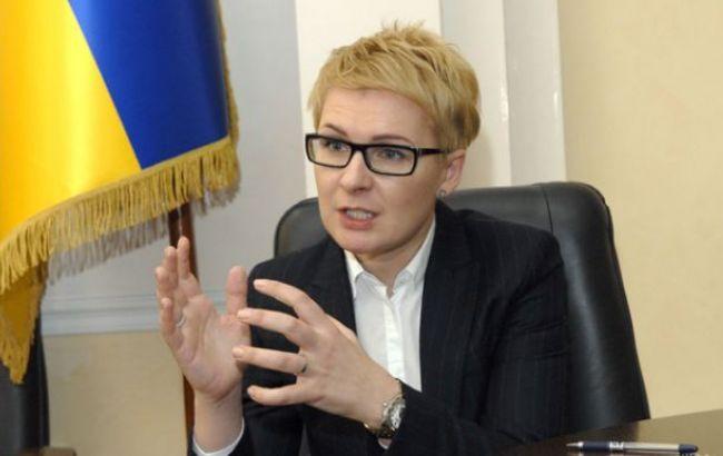 Фото: директор Департаменту з питань люстрації Міністерства юстиції Тетяна Козаченко