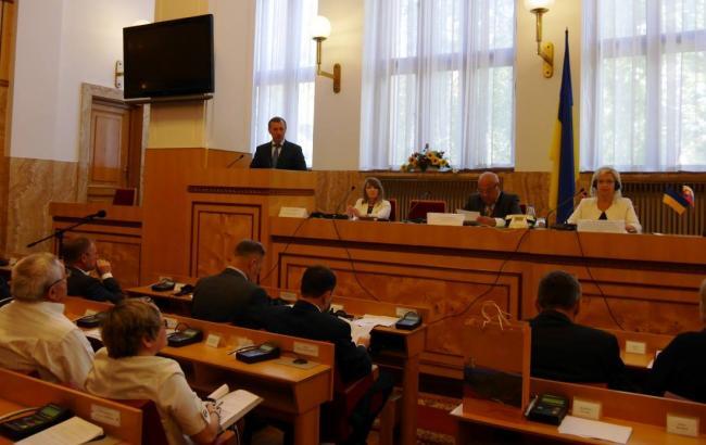 Фото: заседание межправительственной комиссии в Ужгороде