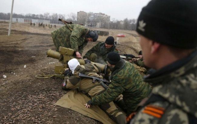 Боевики активизировали обстрелы сил АТО на Донбассе