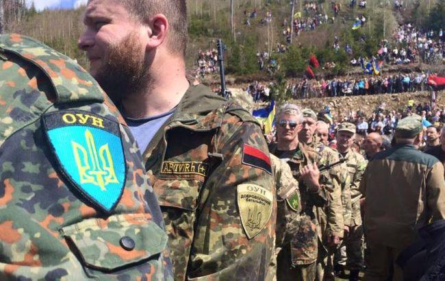У Києві невідомі підпалили офіс ОУН
