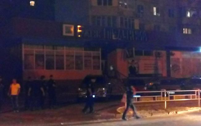 Фото: взрыв в Херсоне