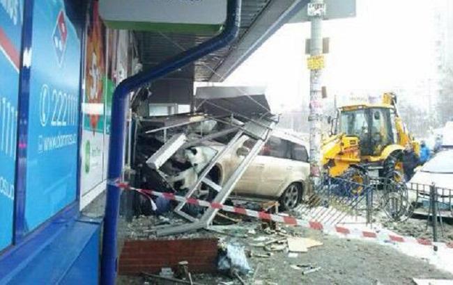 Фото: разбитое авто киевского мажора