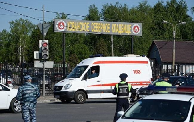 Перестрілка на кладовищі у Москві: знайдено тіло третього загиблого
