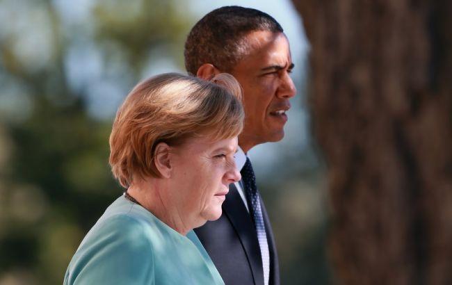 """Меркель відмовила Обамі у розширенні """"нормандського формату"""" за рахунок США"""