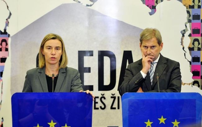 Фото: Могерини і Хан закликали Туреччину при будь-яких обставин дотримуватися прав людини