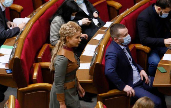 Тимошенко: мы инициируем проведение референдума по пяти 5 вопросам