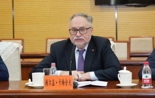 Умер посол Украины в Китае Камышев