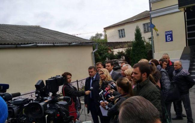 """Фото: Тимошенко перед заседанием суда по """"тарифному делу"""""""