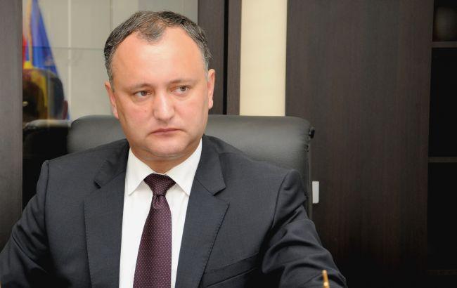 Фото: один из лидеров молдавской оппозиции Игорь Додон